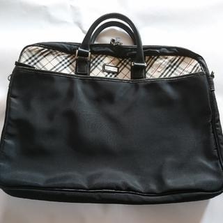 BURBERRY BLACK LABEL - バーバリーブラックレーベル ビジネスバッグ