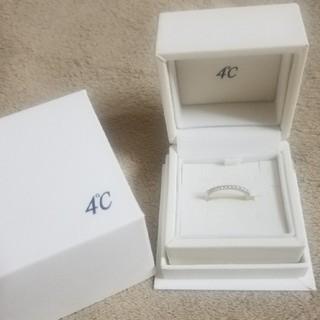 ヨンドシー(4℃)の♡4℃♡指輪︰7号♡シルバー(リング(指輪))