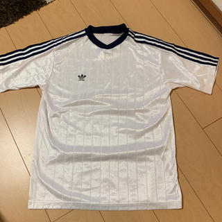 アディダス(adidas)のadidas 90s ゲームシャツ 3ストライプ(Tシャツ/カットソー(半袖/袖なし))