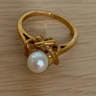 ティファニー(Tiffany & Co.)のK18 ティファニー パール リング (リング(指輪))