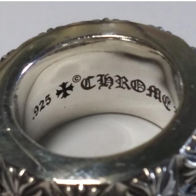 Chrome Hearts(クロムハーツ)のCHROME HEARTS ピートバンクWロウリング  メンズのアクセサリー(リング(指輪))の商品写真