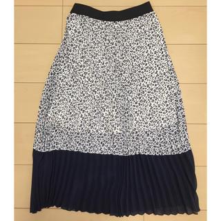 しまむら - レオパード柄ロングスカート ロングスカート プリーツスカート