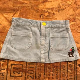 ヒステリックミニ(HYSTERIC MINI)のヒスミニ スカート hysteric mini 台形スカート  コーデュロイ(スカート)
