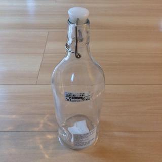 イケア(IKEA)の【新品】イケア IKEA KORKEN コルケン ボトル ふた付 クリアガラス(容器)