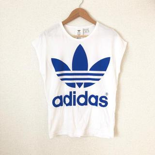 ハイク(HYKE)のHYKE × adidas ★ フレンチスリーブTシャツ(Tシャツ(半袖/袖なし))