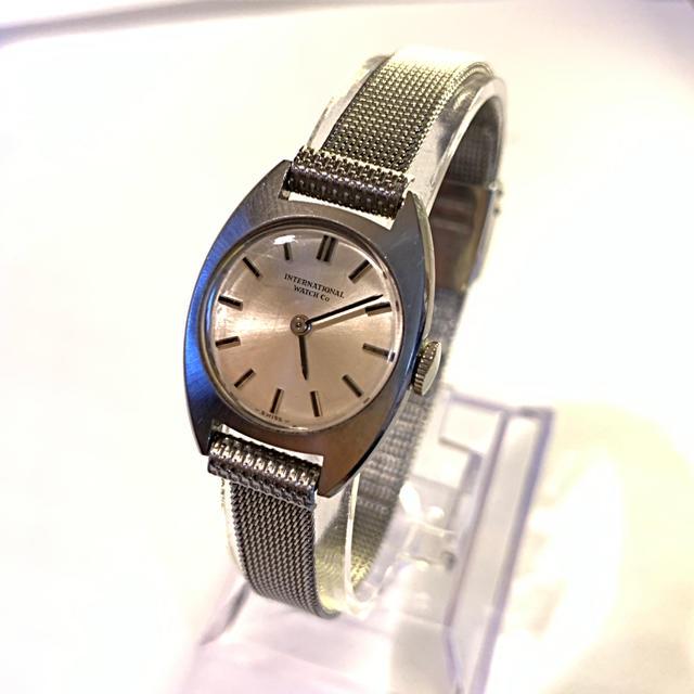 IWC - IWC レディース時計・手巻き式 (ブレス社外品 )の通販