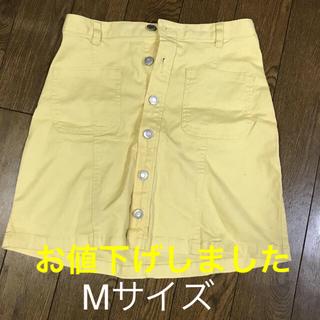 ハニーズ(HONEYS)のデニムスカート コーデュロイスカート(ひざ丈スカート)