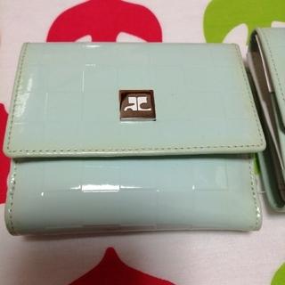 クレージュ(Courreges)の残り二点 courreges二つ降り財布(財布)