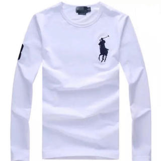 ラルフローレン(Ralph Lauren)の新品未使用、ビッグポニー ラルフローレン長袖Tシャツ(Tシャツ/カットソー(七分/長袖))