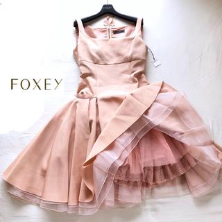 フォクシー(FOXEY)の極美品 FOXEY フォクシー 幻のリトルマーメイドドレス38ワンピース(ミディアムドレス)
