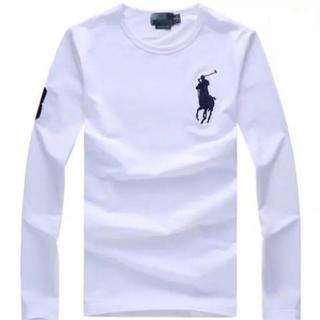 ラルフローレン(Ralph Lauren)の新品未使用、ビッグポニー ラルフローレン長袖Tシャツ 男女兼用(Tシャツ/カットソー(七分/長袖))