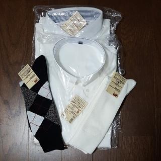 ムジルシリョウヒン(MUJI (無印良品))の紳士XL 半袖・靴下のセット(夏の福袋)(シャツ)
