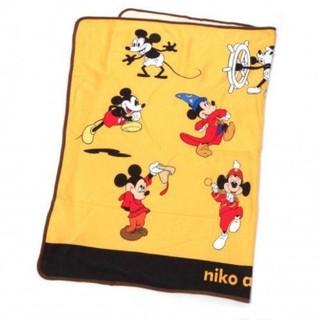 ニコアンド(niko and...)の新品未使用 ニコアンド 90周年限定ミッキーブランケット(おくるみ/ブランケット)