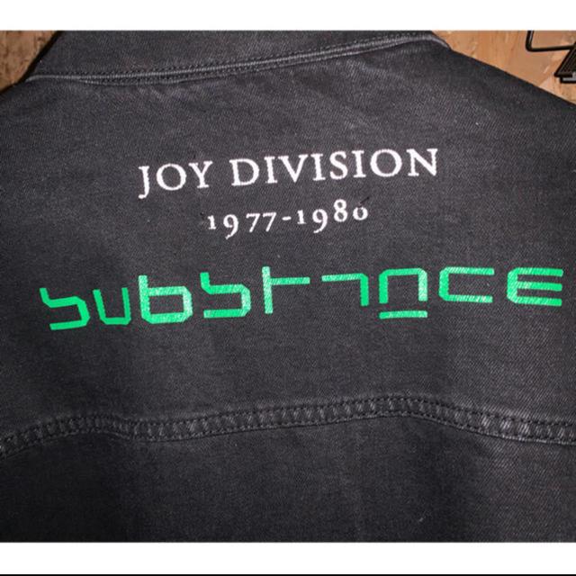 RAF SIMONS(ラフシモンズ)のraf simons JOYDIVISIONデニムジャケット メンズのジャケット/アウター(Gジャン/デニムジャケット)の商品写真