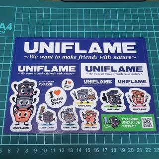 ユニフレーム(UNIFLAME)のUNIFLAME ユニフレーム非売品ステッカー(その他)