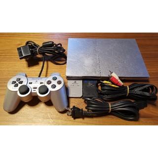 プレイステーション2(PlayStation2)のPS2本体 SCPH-90000 シルバー プレステ2 ジャンク扱い 送料込み(家庭用ゲーム本体)