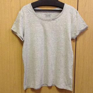 ジーユー(GU)のGU Tシャツ Sサイズ グレー(Tシャツ(半袖/袖なし))