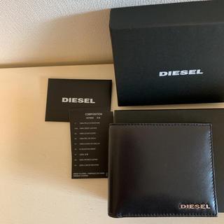 ディーゼル(DIESEL)のDIESEL レザーウォレット(折り財布)