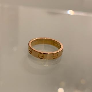 カルティエ(Cartier)のCartier ベビーラブリング PG(リング(指輪))
