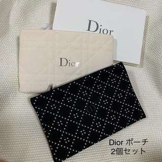 Dior - Dior  ノベルティー ポーチ  * 2個セット  お値下げしました