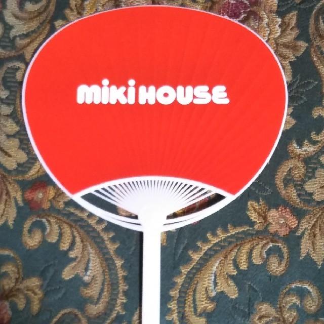 mikihouse(ミキハウス)の新品☆ミキハウスうちわ その他のその他(その他)の商品写真