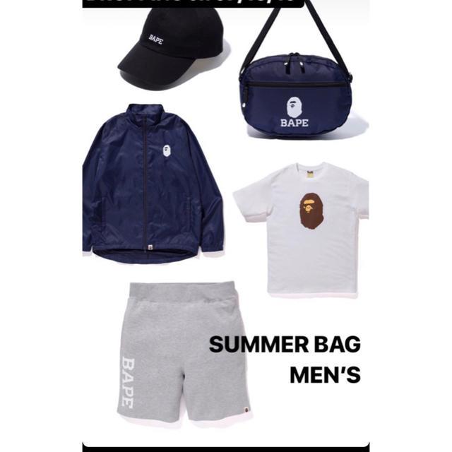 A BATHING APE(アベイシングエイプ)のBAPE summer bag メンズのトップス(Tシャツ/カットソー(半袖/袖なし))の商品写真