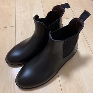 オリエンタルトラフィック(ORiental TRaffic)の新品✩サイドゴア レインブーツ Mサイズ 23.5cm(レインブーツ/長靴)