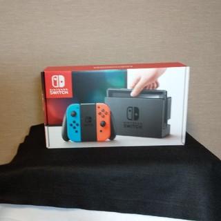 ニンテンドースイッチ(Nintendo Switch)の新品・未使用・未開封 ニンテンドースイッチ本体 ネオンブルー/ネオンレッド(携帯用ゲーム本体)