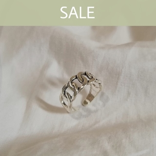 BEAUTY&YOUTH UNITED ARROWS - 【数量限定SALE】silver 925 chain ring 1 *