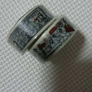 スヌーピー(SNOOPY)のピーナッツ スヌーピー  マスキングテープ 2巻 (テープ/マスキングテープ)