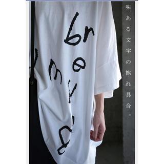 アンティカ(antiqua)のantiqua  ビッグロゴT  新品未使用(Tシャツ(半袖/袖なし))