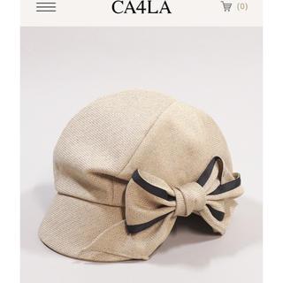 CA4LA - 新品 ca4la  リボンキャスケット