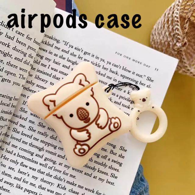 airpodsシリコンケース コアラ airpodsケース #1 スマホ/家電/カメラのスマホアクセサリー(モバイルケース/カバー)の商品写真