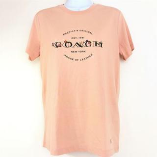 コーチ(COACH)のCOACH コーチ シャツ トップス レディース 半袖 F33867 ピンク系(Tシャツ(半袖/袖なし))