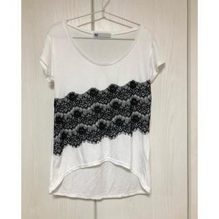 スライ(SLY)のSLY レース半袖Tシャツ(Tシャツ(半袖/袖なし))