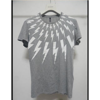 ニールバレット(NEIL BARRETT)のNeIL BarreTT 稲妻 サンダーボルト 丸首 Tシャツ XS (Tシャツ/カットソー(半袖/袖なし))