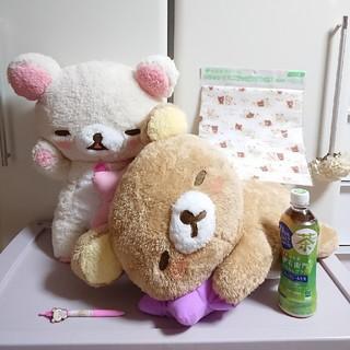 サンエックス - 【おまけ付き♪】パジャマパーティー ぬいぐるみ リラックマ&コリラックマ