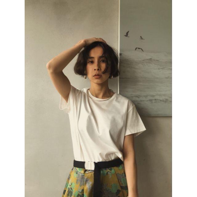 Ameri VINTAGE(アメリヴィンテージ)の☆ 完売品 AMERI COATING BASIC TEE Tシャツ ホワイト レディースのトップス(Tシャツ(半袖/袖なし))の商品写真