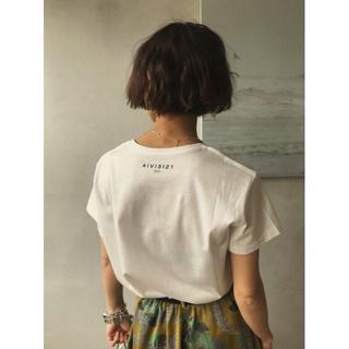 アメリヴィンテージ(Ameri VINTAGE)の☆セール中☆ AMERI COATING BASIC TEE Tシャツ ホワイト(Tシャツ(半袖/袖なし))