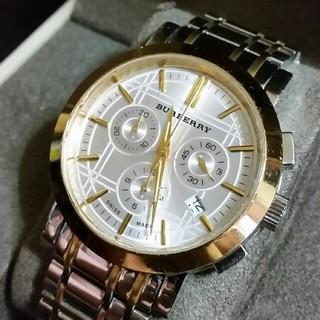 BURBERRY - BURBERRYバーバリー クロノグラフ 腕時計