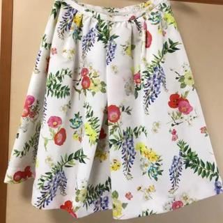 チェスティ(Chesty)のchesty 花柄スカート(ひざ丈スカート)