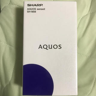 AQUOS - 【新品】AQUOS sense2 SH-M08 アーバンブルー SIMフリー