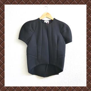 ENFOLD - セール❣️  エンフォルド   ●ノーカラーボンディングジャケット