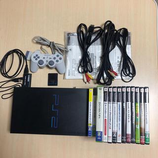 PlayStation2 - PS2本体 + HDMI変換ケーブル + ゲームソフトセット