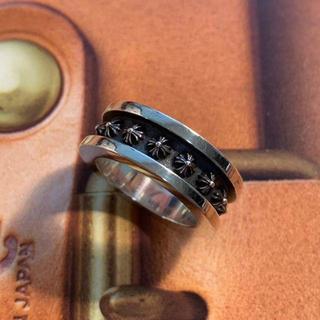 クロムハーツ(Chrome Hearts)の『正規品』クロムハーツ ミニCHプラススペーサーリング(リング(指輪))