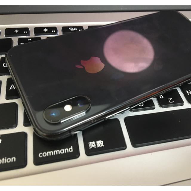 Apple(アップル)の箱完備 iphone x 本体ジャンク64gb スマホ/家電/カメラのスマートフォン/携帯電話(スマートフォン本体)の商品写真