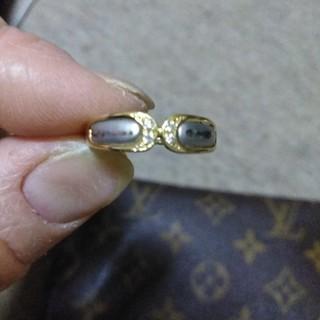 プラチナゴールドダイヤモンドコンビリング(リング(指輪))