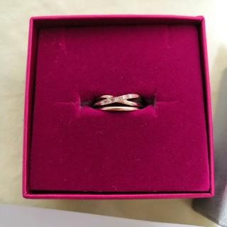 ベリテ ピンクゴールド k10 リング PG 指輪(リング(指輪))