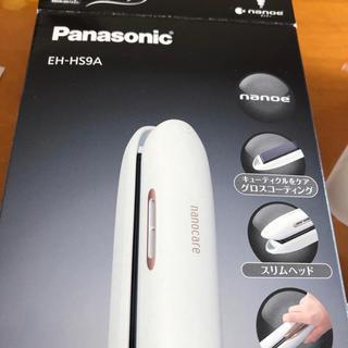 パナソニック(Panasonic)の【Panasonic】 ナノケア EH-HS9A ストレートアイロン(ヘアアイロン)