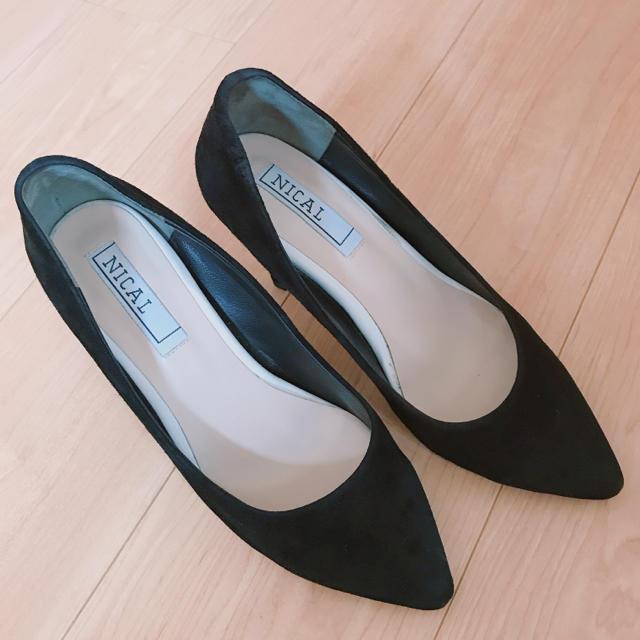ORiental TRaffic(オリエンタルトラフィック)のNICAL スエードポインテッドトゥパンプス レディースの靴/シューズ(ハイヒール/パンプス)の商品写真